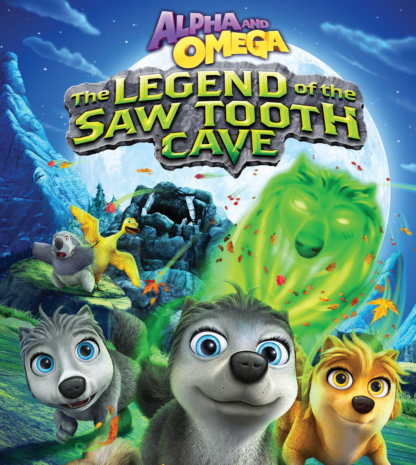 Watch Movie Alpha and Omega: The Legend of the Saw Tooth Cave