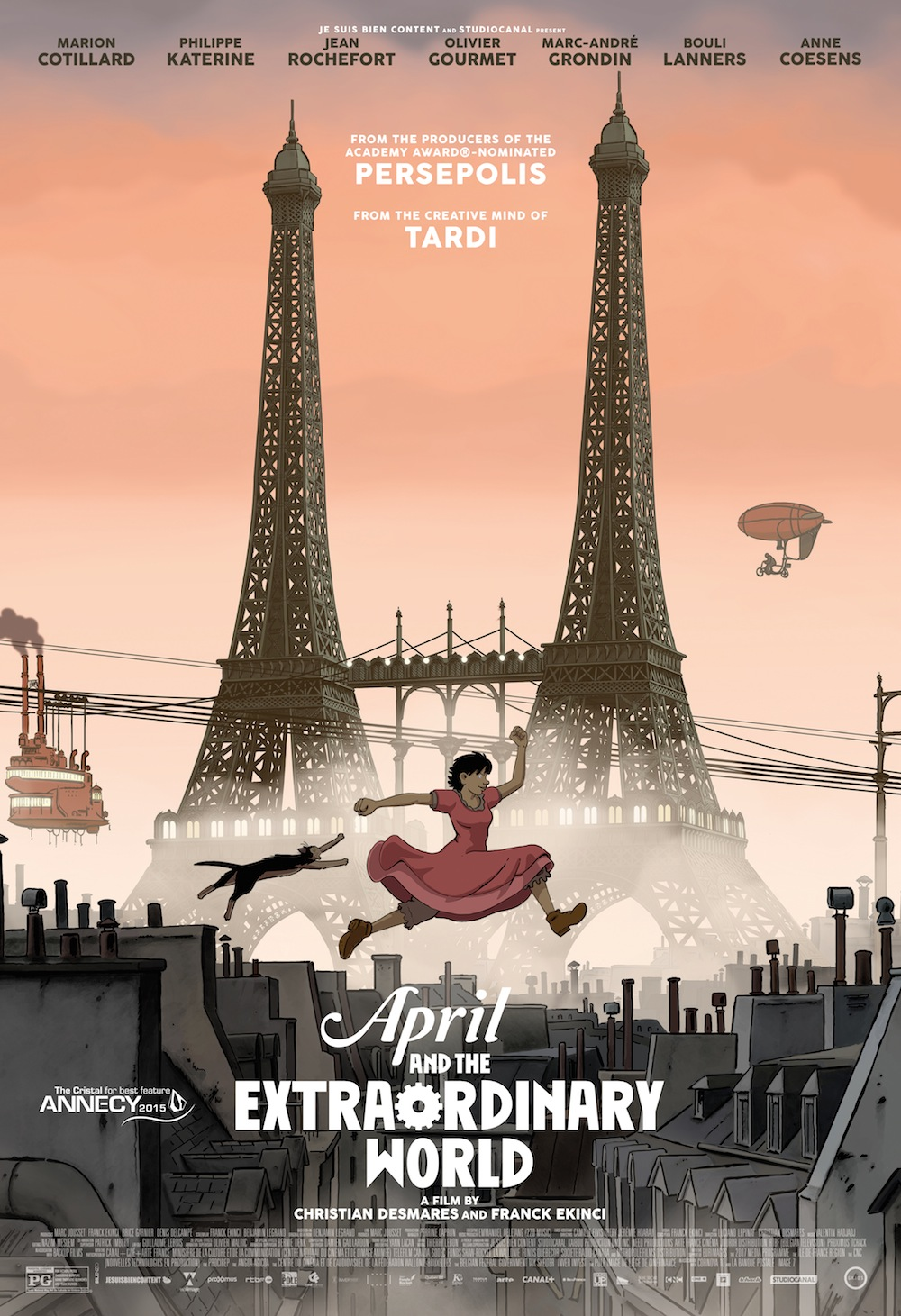 Watch Movie April and the Extraordinary World