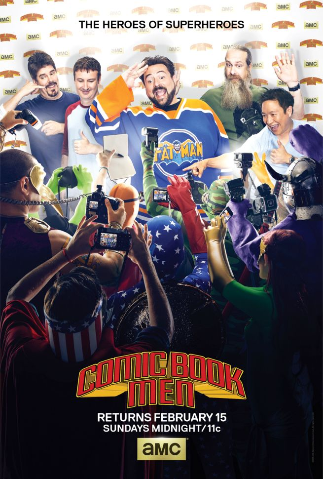 Watch Movie Comic Book Men - Season 4