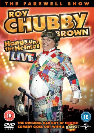 Roy Chubby Brown Hangs Up the Helmet